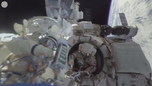ISS crew's 360-degree video is the closest you'll get to space