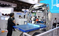 OMRON's updated ping pong robot can serve and take smashes