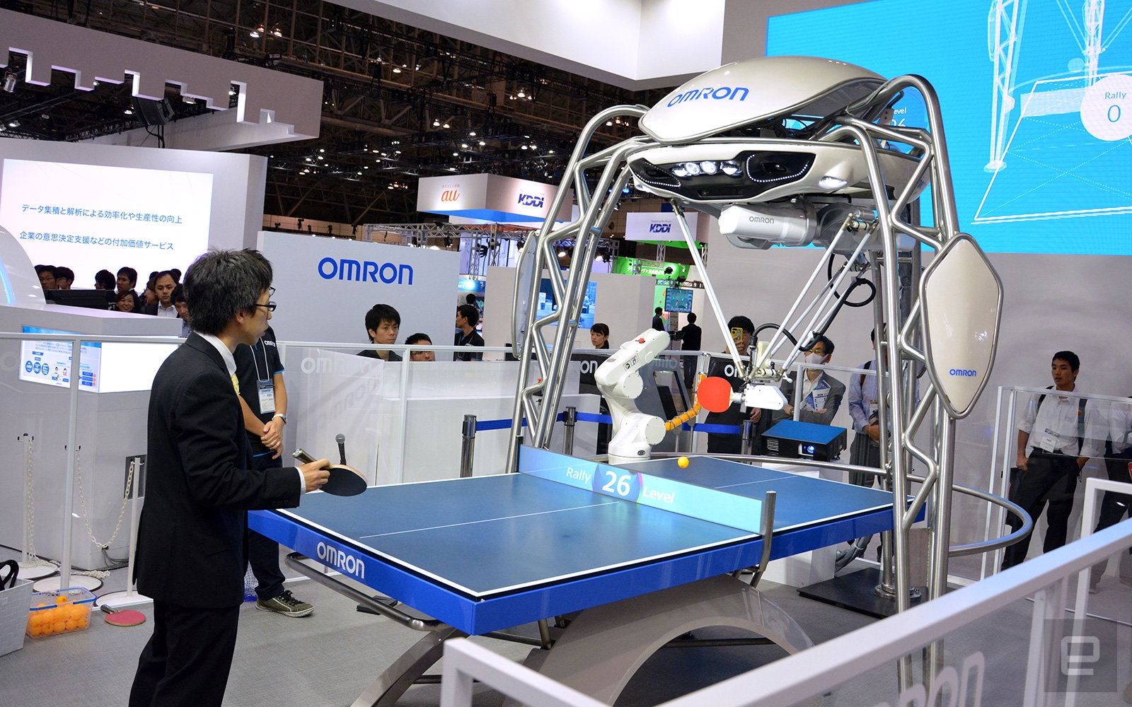 OMRON's updated ping pong robot can serve and take smashes | DeviceDaily.com
