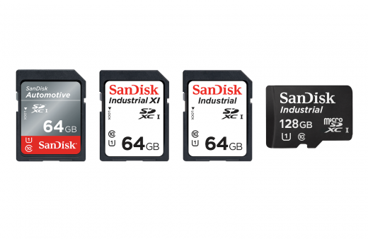 SanDisk's 'Industrial' SD cards can withstand extreme temperatures