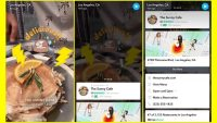 Snapchat's Context Cards turn Snaps into location-based search queries