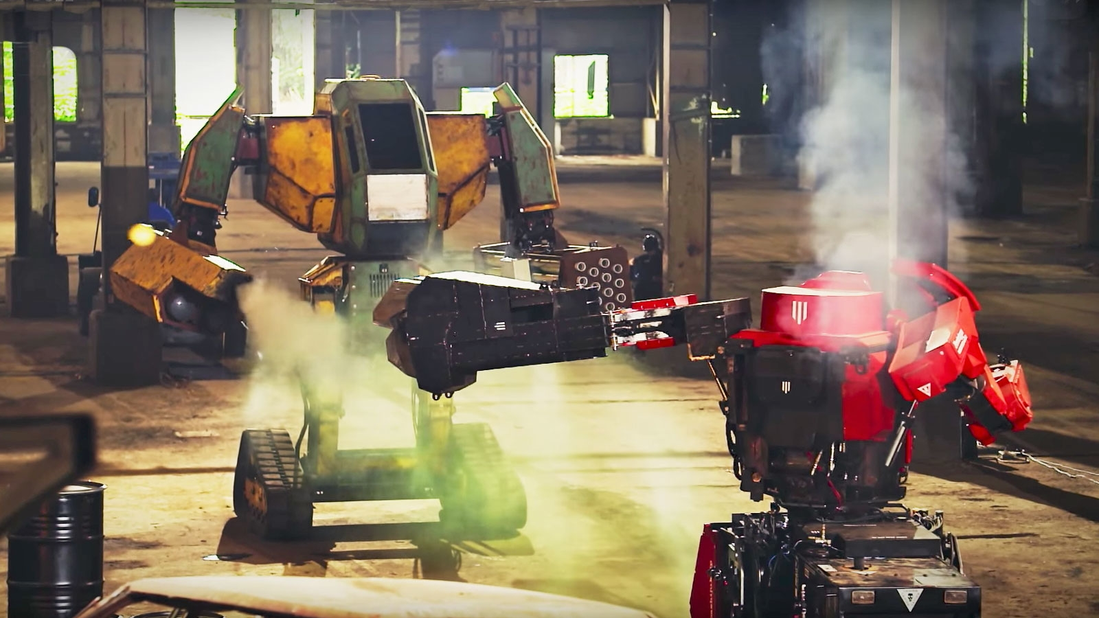 This week's 'live' giant robot battle was fake | DeviceDaily.com