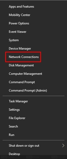 wifi doesnt have valid ip configuration how to fix