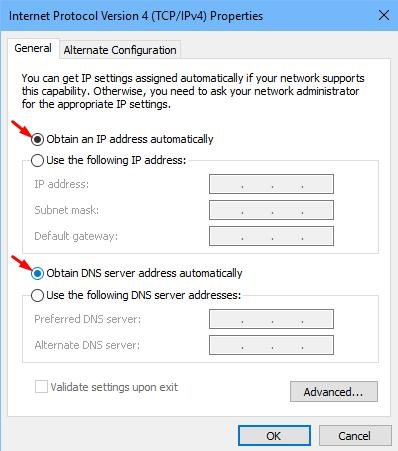 How to Fix 'WiFi Doesn't Have a Valid IP Configuration' | DeviceDaily.com