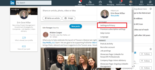 Your LinkedIn Account: Where You're Signed In | DeviceDaily.com