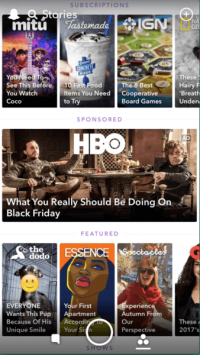 Snapchat's new Promoted Stories format gives advertisers their own slot in the app's Stories tab