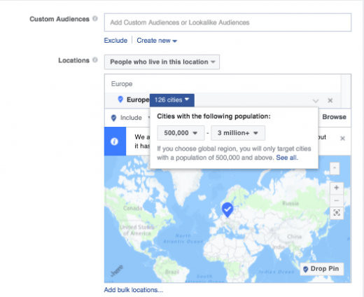 Facebook makes it easier for advertisers to reach people internationally