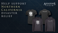Limited Edition Assassin's Creed Shirt Sales to Support Fire Relief