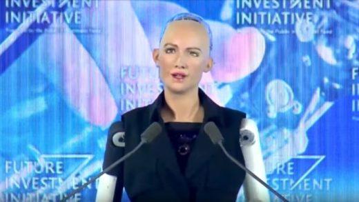 "Saudi Arabia has granted ""citizenship"" to a humanoid robot"