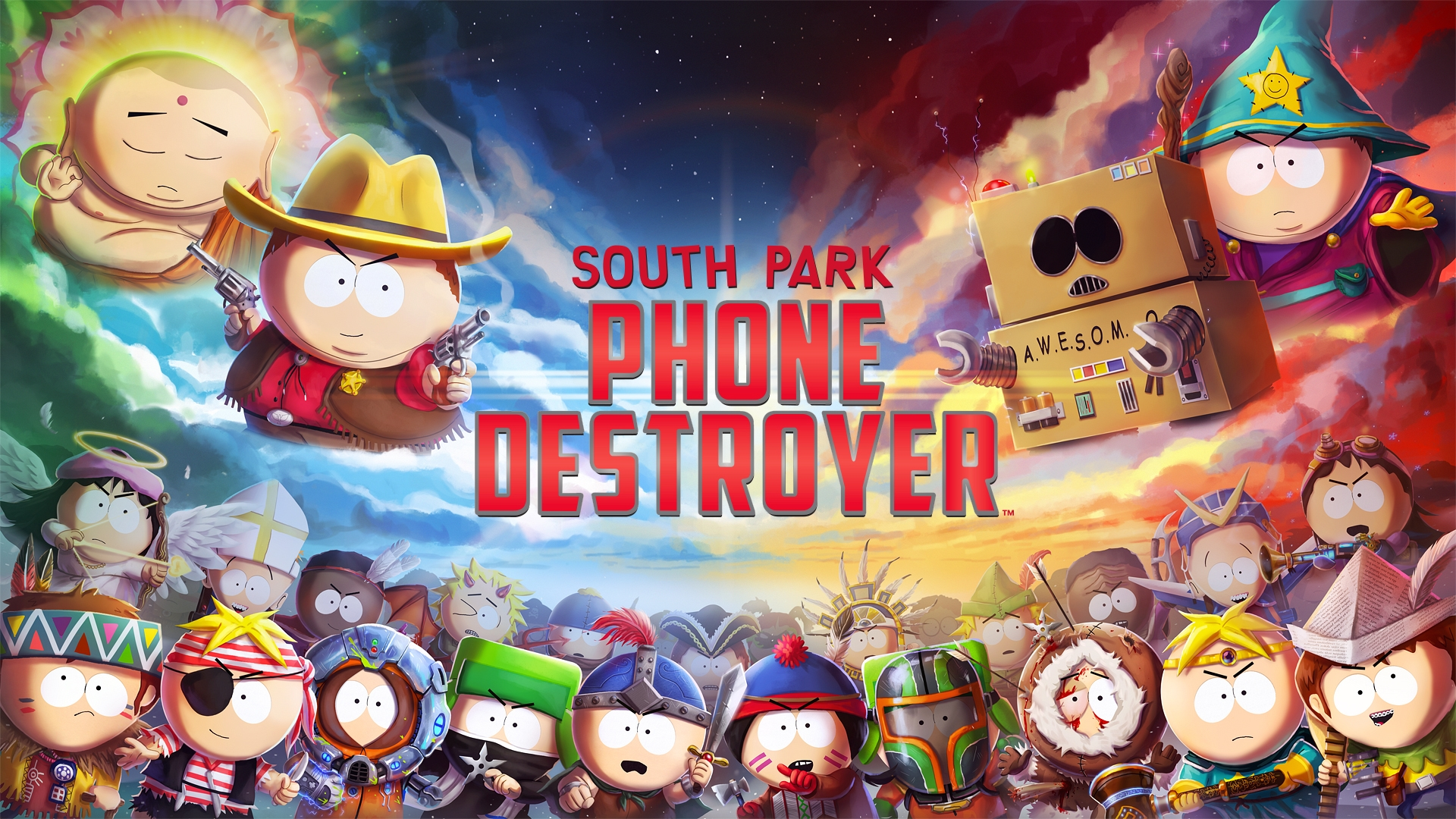 South Park: Phone Destroyer Launches November 9 on Mobile Devices Worldwide | DeviceDaily.com