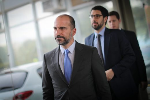 Uber's new chief knew about hack months before the public