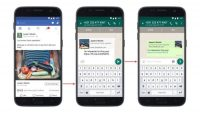 Facebook ads can now link to brands' WhatsApp accounts