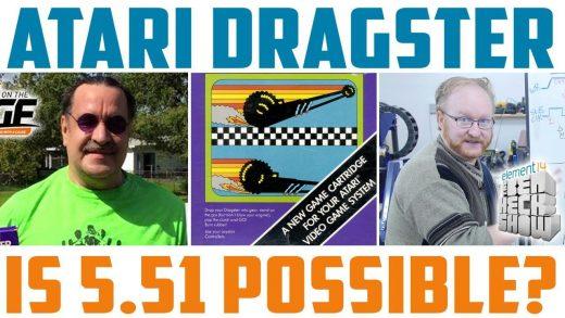 Ben Heck's Atari 'Dragster' speed run test rig