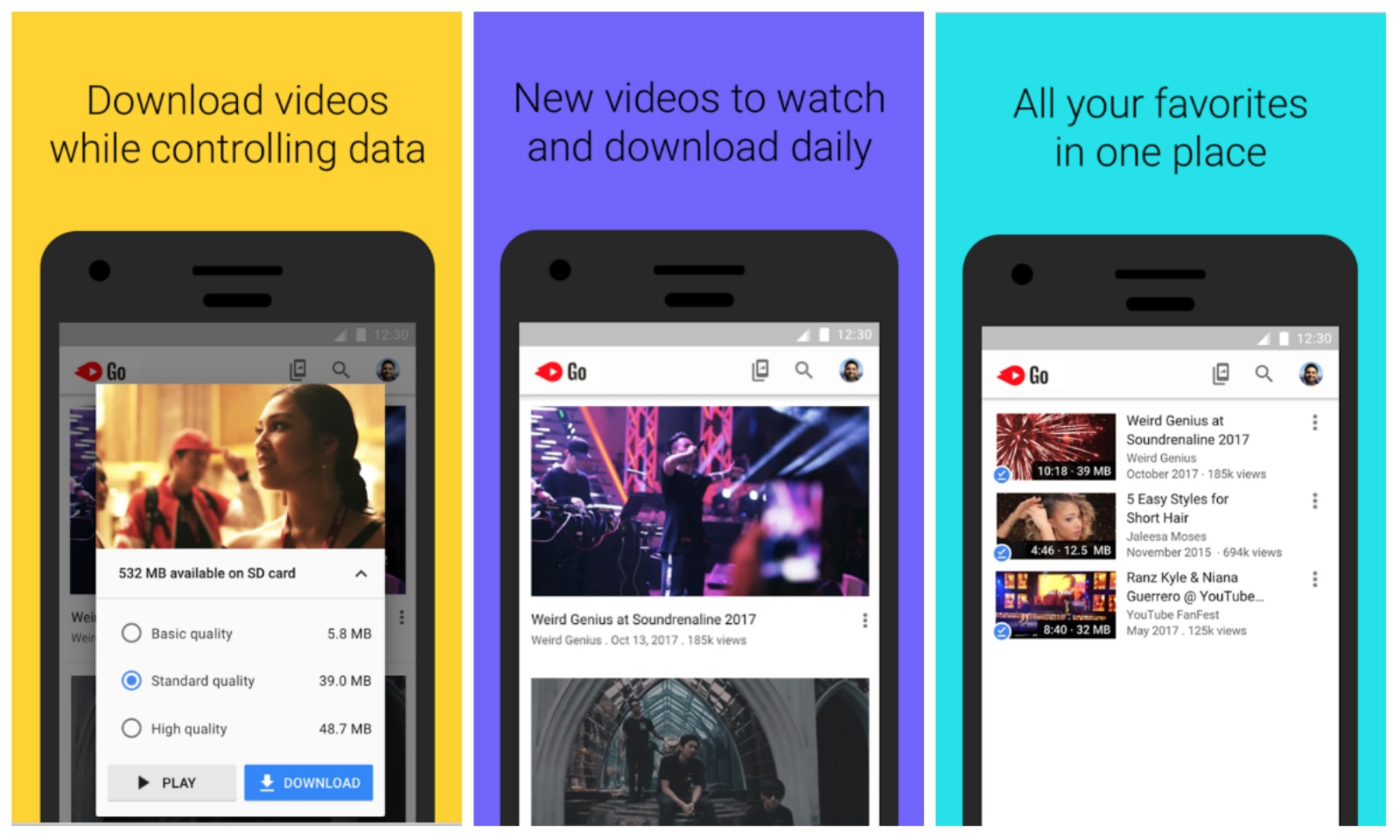 Google's lightweight YouTube Go app is out of beta | DeviceDaily.com
