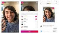 Instagram live videos can be sent as direct messages