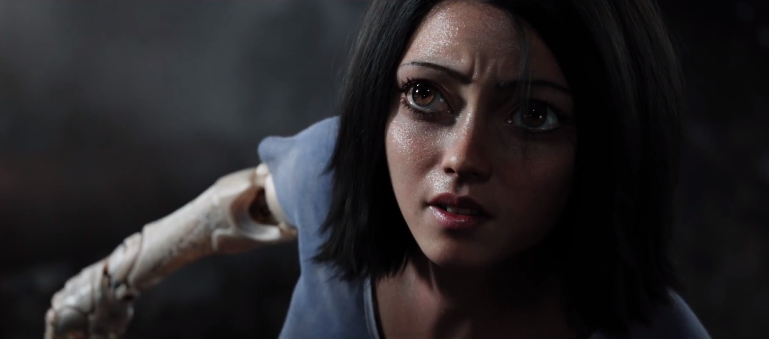 James Cameron's 'Alita: Battle Angel' stars creepy CG anime eyes | DeviceDaily.com