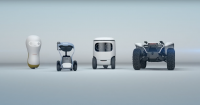 These new Honda concept mobility robots are adorable