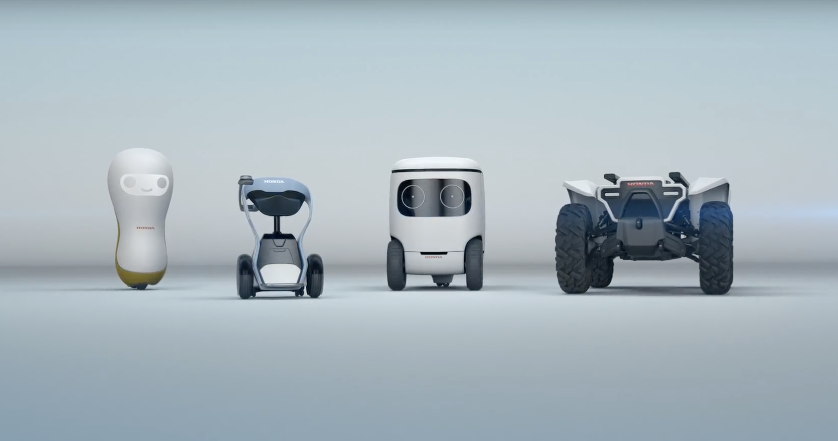 These new Honda concept mobility robots are adorable | DeviceDaily.com