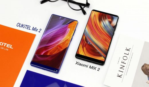 [Video] OUKITEL MIX 2 vs. Mi MIX 2: Appearance and Performance Compared in Hands-On Video