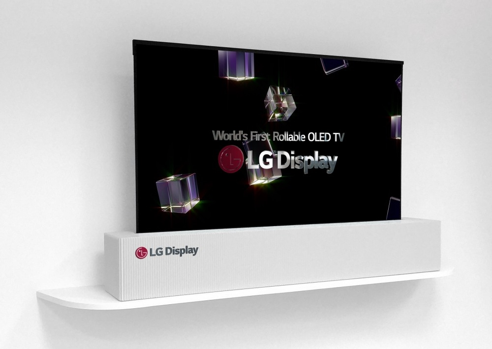 LG Display delivers a 65-inch rollable OLED   DeviceDaily.com