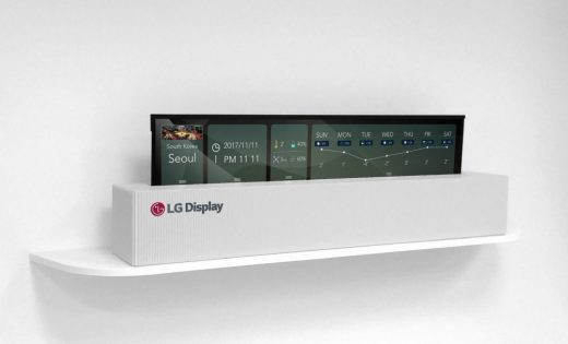 LG Display delivers a 65-inch rollable OLED
