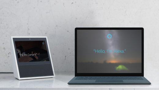 Alexa and Cortana still don't work together