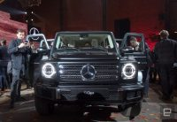 Mercedes CEO: 'Stay tuned' for an electric G Wagon SUV