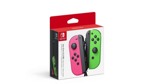 Nintendo set to sell neon 'Splatoon' Joy-Con controllers in the US