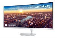 Samsung's latest curved QLED monitor packs Thunderbolt 3