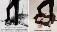 "This Photographer Flips Gender Roles In Sexist ""Mad Men"" Era Ads"