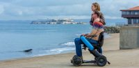 Whill's new electric wheelchair is light, portable and fast