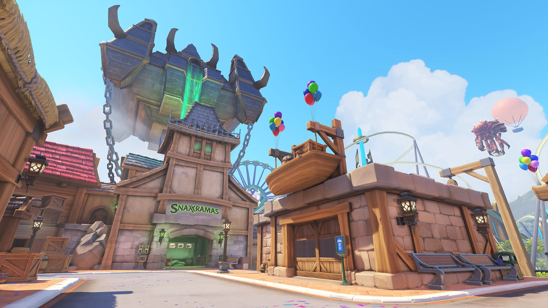 Here's what it would take to make Overwatch's 'Blizzard World' IRL | DeviceDaily.com