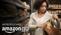 Amazon Go, Wrist Patent Show Company's Advertising Strength, Reach