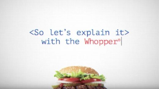 Burger King Uses The Whopper To Teach A Valuable Lesson On Net Neutrality