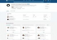 LinkedIn updates Sales Navigator with redesigned account pages, improved search