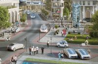Mercedes and Bosch will test self-driving taxis in a few months