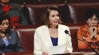 Pelosi held the House floor for 8 hours without sitting–and in heels