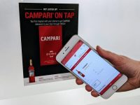 Thinfilm's NFC-enabled magnets let Campari customers reorder from their fridge