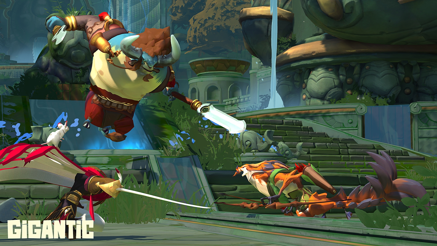 Third-person MOBA 'Gigantic' to close on July 31st | DeviceDaily.com
