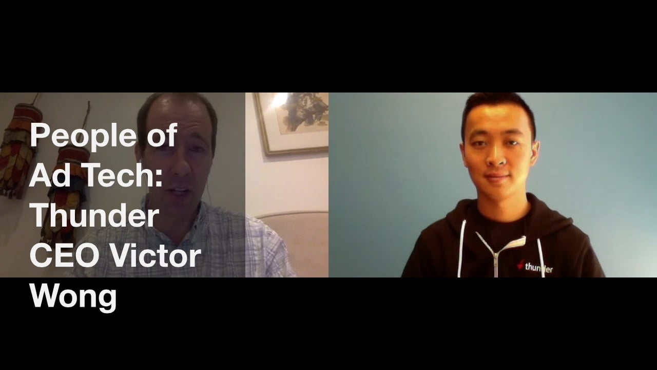 Thunder's Victor Wong Discusses The Future Of Ad Tech, Ad Standards   DeviceDaily.com
