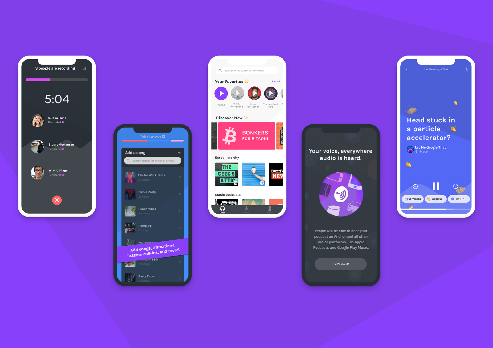 Anchor turns itself into a one-stop podcast creation app | DeviceDaily.com