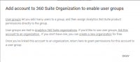 Analytics 360 Suite customers can now set up 'user groups' in Google Analytics