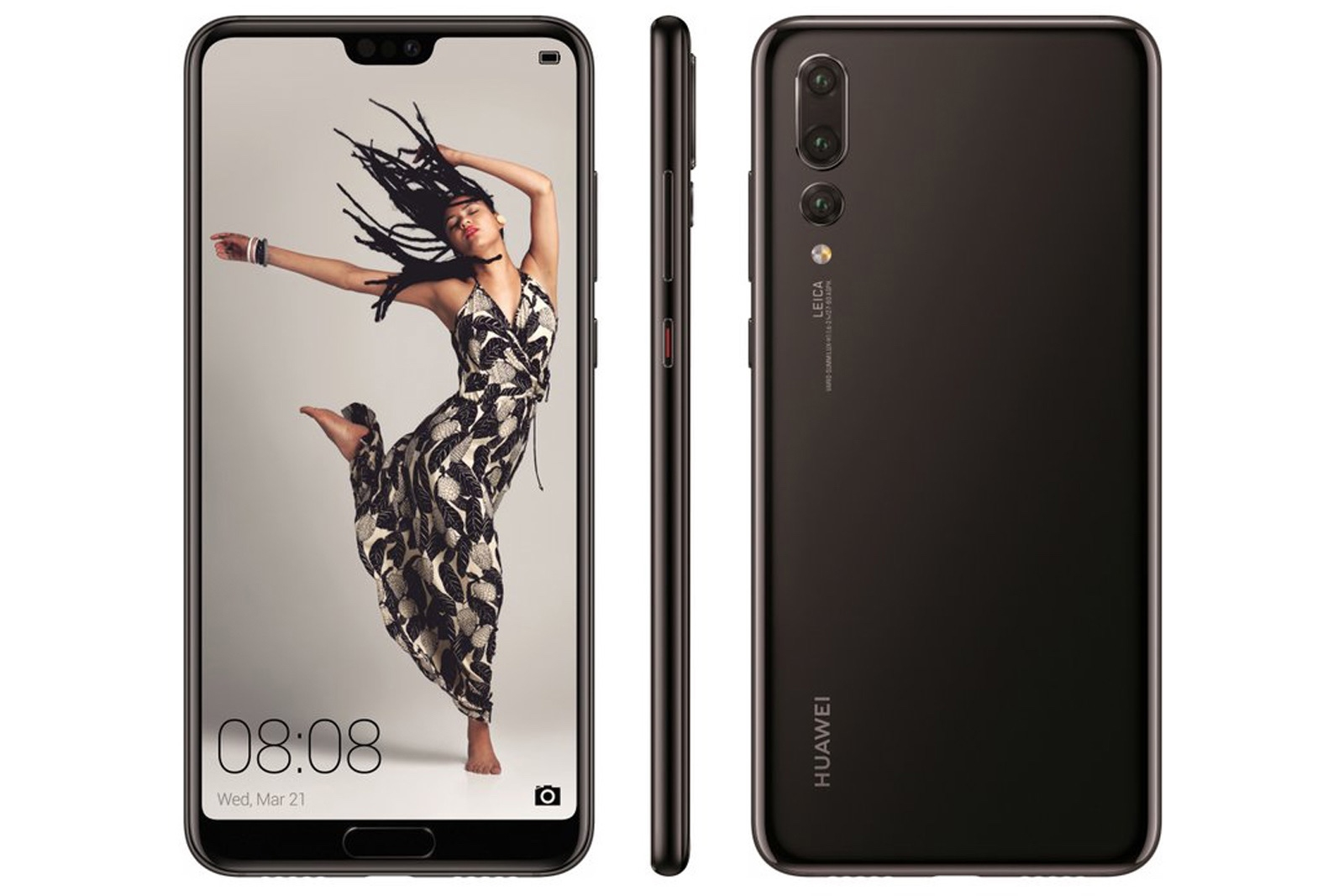 Huawei's notch-infused P20 phone lineup leaks out | DeviceDaily.com