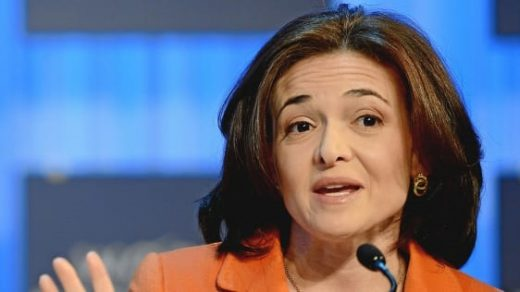 "Sheryl Sandberg: Women are missing ""informal mentoring"" from senior male execs"