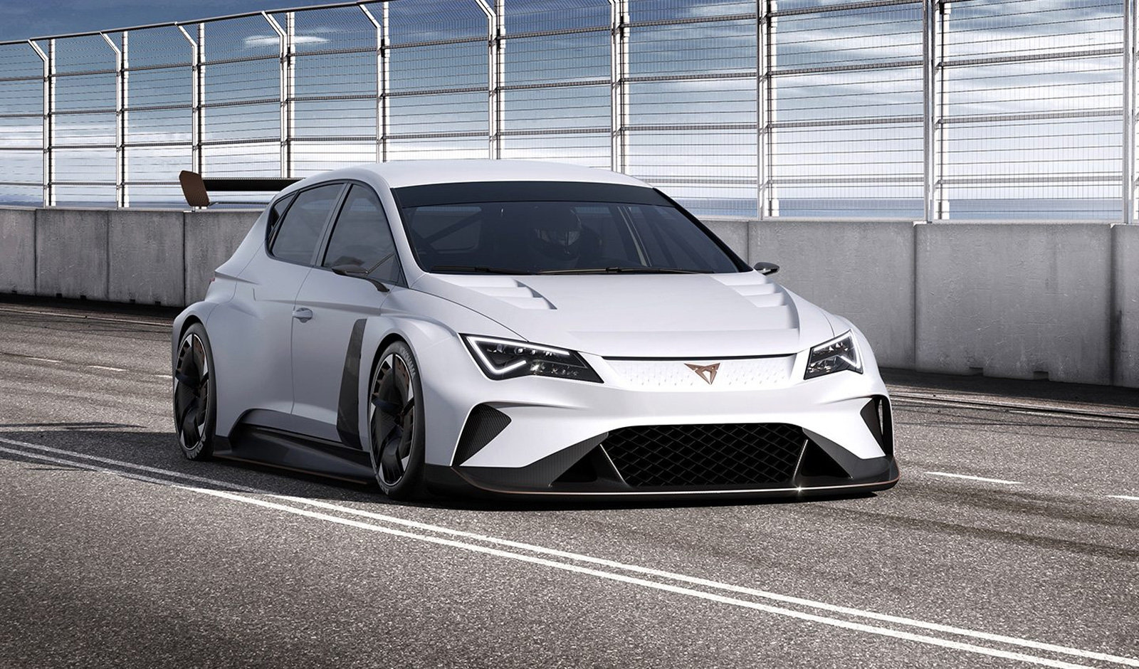 VW's Seat unveils the first fully electric touring-class race car | DeviceDaily.com
