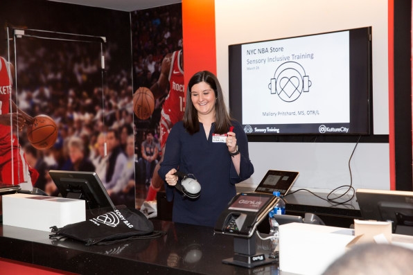 The NBA's Autism-Friendly N.Y.C. Store Is A Slam Dunk | DeviceDaily.com