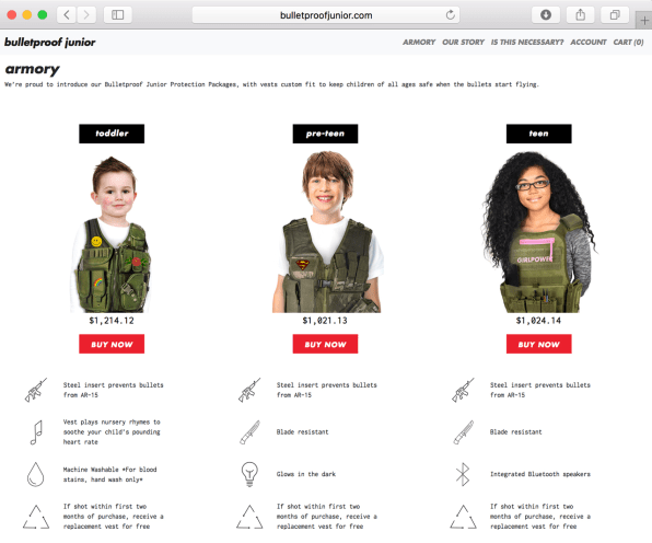 These Bulletproof Vests For Kids Are Perfect For The Next School Shooting | DeviceDaily.com