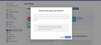 Facebook is now giving users the option to remove apps in bulk