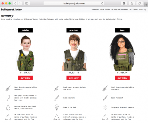 These Bulletproof Vests For Kids Are Perfect For The Next School Shooting