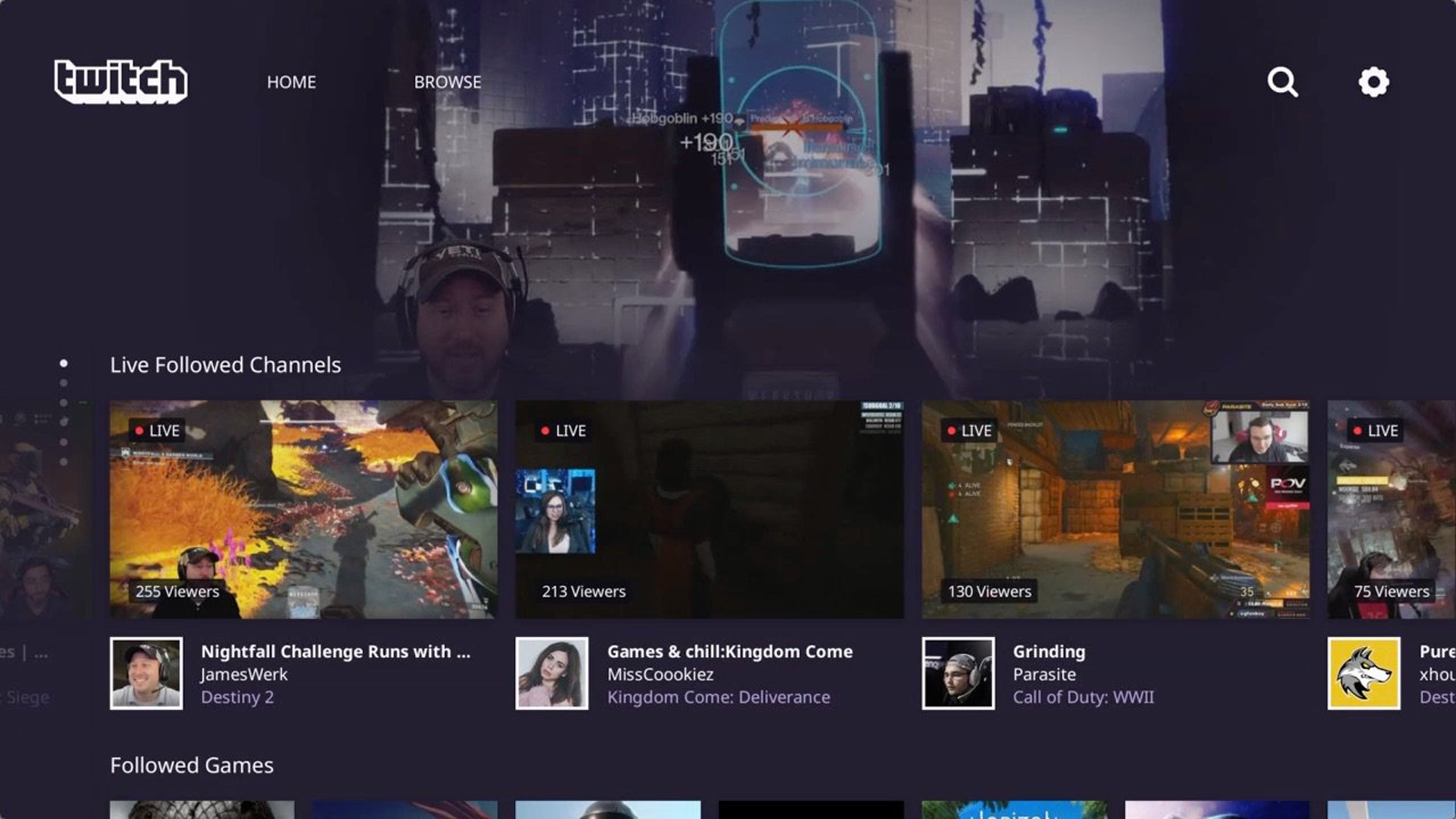 Twitch app for PS4 gets a much-needed interface makeover | DeviceDaily.com